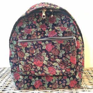 Chelsea28 backpack Rose gold black new
